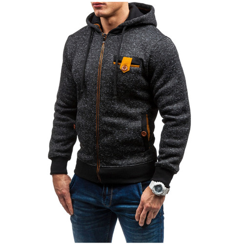 Hoodies Men 2017 Brand Male Hoodie Sweatshirt Mens Zipper Moletom Masculino Hoodies Slim Tracksuit Large Size XXL