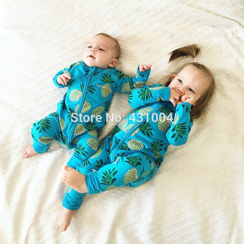 Ubetoku Baby Rompers Boy Girls Cartoon one-piece Romper baby jumpsuit newborn cute bebes infant kidswear