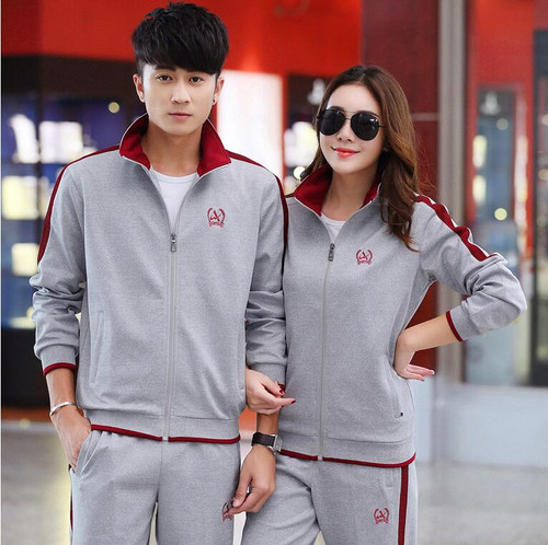 RLYAEIZ Hot New Sportswear Women 2 Piece Set 2017 Casual Woman Sporting Suits Zipper Hoodies + Pants Sets Female Tracksuits 5XL
