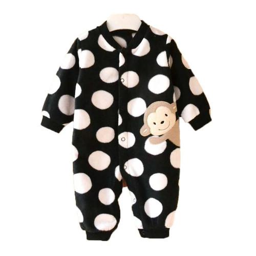 Full Sleeve Baby Romper Black Newborn Girl Clothing Baby Boy Clothes Baby Jumpsuit Winter Bobo Choses Roupa Infantil Body Unisex