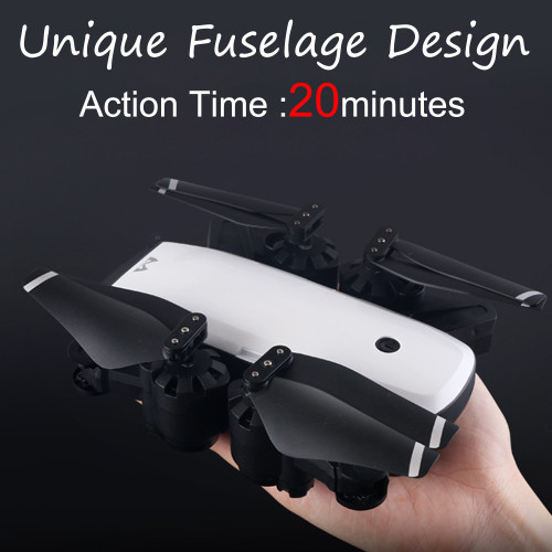 SMRC S20 RC Quadcopter with 1080P Camera FPV 120 Wide-Angle 5G GPS Aititude Hold RC Helicopter Foldable Selfie Drone with Camera