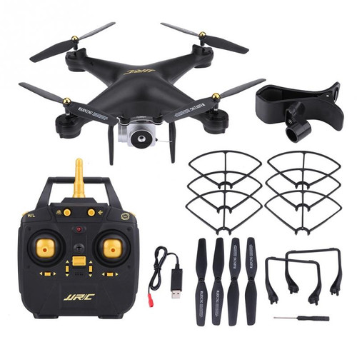 JJRC H68 2.4GHz 4CH Remote Control Quadcopter with 2MP Adjustable Camera WiFi FPV Drone Controllable lights RC Drone Toy