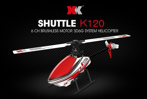 LeadingStar XK K120 Shuttle 6CH Brushless 3D 6G System RC Helicopter RTF/BNF
