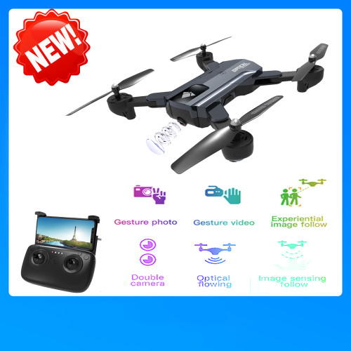 SG900 RC Drone with Camera 720P Wifi FPV RC Quadcopter Optical Flow Gesture Shot Follow Me Fly 22mins Altitude Hold E58 F196 X12