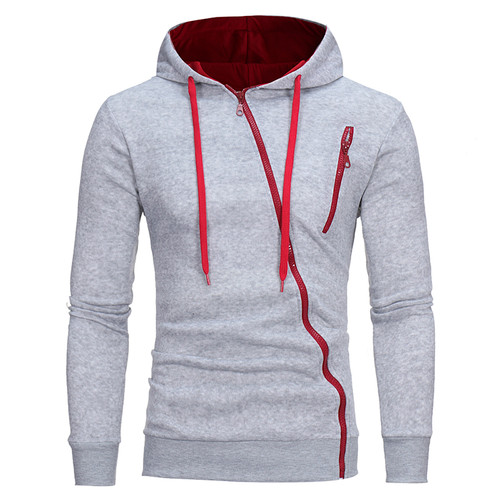 T-Bird Brand Hoodies Men 2017 Male Long Sleeve Hoodie Features Zipper Sweatshirt Mens Moletom Masculino Hoodies Slim Tracksuit