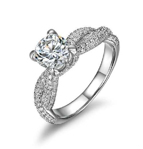 2 CT Excellent Vintage SONA Fine Diamond Engagement Ring Women Wedding Anniversary Day Best Gift Perfect Drop Shipping