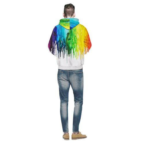 Men/Women New Fashion Splash Painting 3d Print Hoodies Sweatshirt Hoodies With Cap Casual Sweatshirt Hoodie Tracksuits Pullove