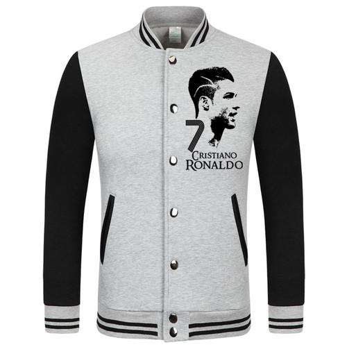 2016 World Cup Cristiano Ronaldo thick velvet baseball uniform men's Jackets camiseta barcelonae 2016 barcelonae kids tracksuit