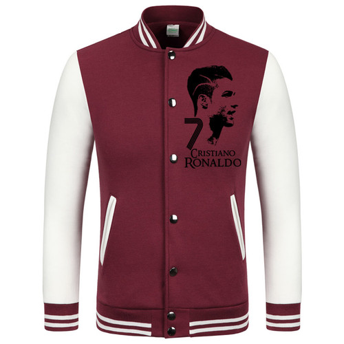 2016 World Cup Cristiano Ronaldo thick velvet baseball uniform men's Jackets camiseta barcelonae 2016 barcelonae kids tracksuit