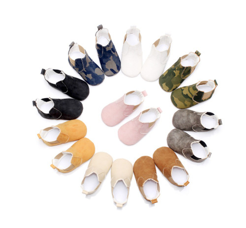 2018 hot sell fall fashion new style pu leather baby moccasins shoes sofe sole baby girls boys shoes first walkers baby boots