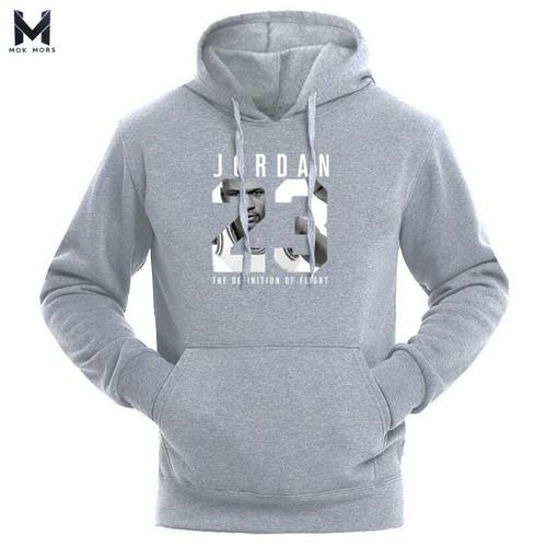 Brand JORDAN 23 Men Sportswear Fashion brand Print Mens hoodies Pullover Hip Hop Mens tracksuit Sweatshirts