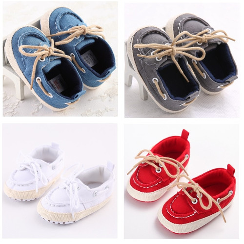 Spring Autumn Shoes Anti-skid Baby Shoes Lace Shoes Male Baby Toddler Shoes WMC234RR