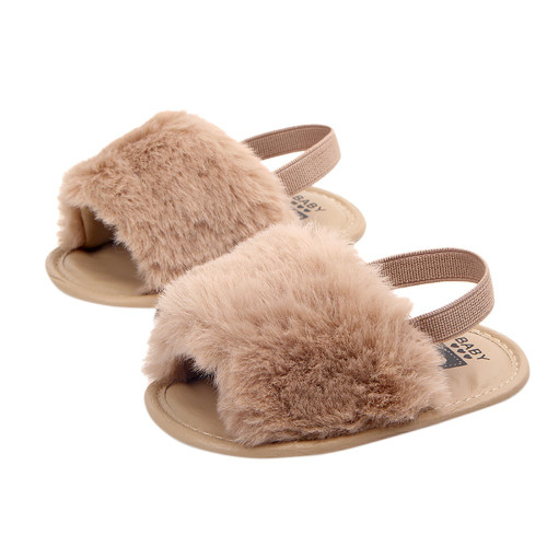 ARLONEET Shoes  Baby Letter Solid Flock Soft Sandals 2018 KIds Baby Flock Girls Boys Slipper Casual Shoes