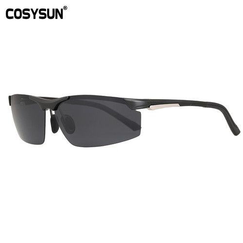 2017 New Arrival Aluminum Magnesium Men's Sunglasses Square Polarized Driving Sun Glasses oculos Male Eyewear Accessories CS2578