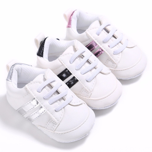 Puseky Soft Bottom Fashion Sneakers Baby Boys Girls First Walkers Baby Indoor Non-slop Toddler Shoes