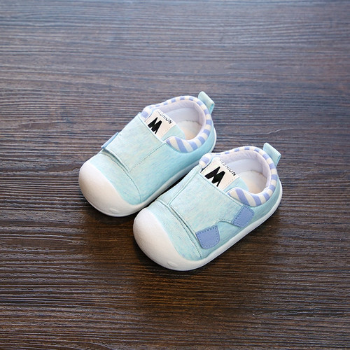 2018 Autumn Infant Toddler Shoes High Quality Baby Girls Boys Shoes Soft Bottom Anti-slip Stripe Babies Kids First Walkers Shoes