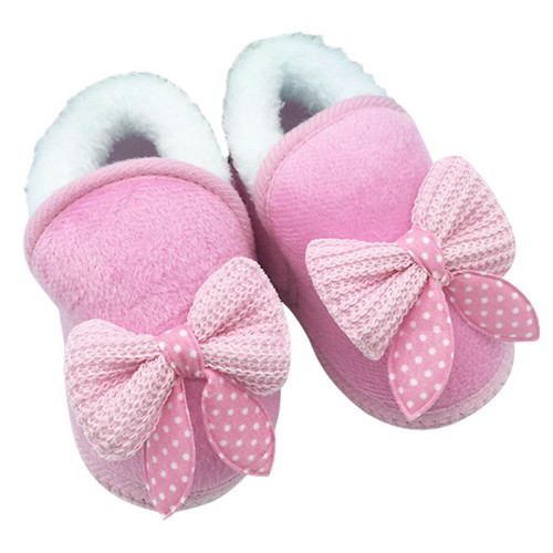 2017 Baby Girls Shoes Toddler First Walker Warm Winter Boots Soft Sole Prewalker Hot Selling