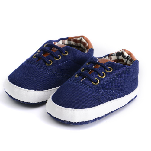 Newborn Baby Boys Kids Shoes Fashion Infant Toddler First Walkers Handsome Bebe British Style Soft Soled Sports Sneakers Loafers