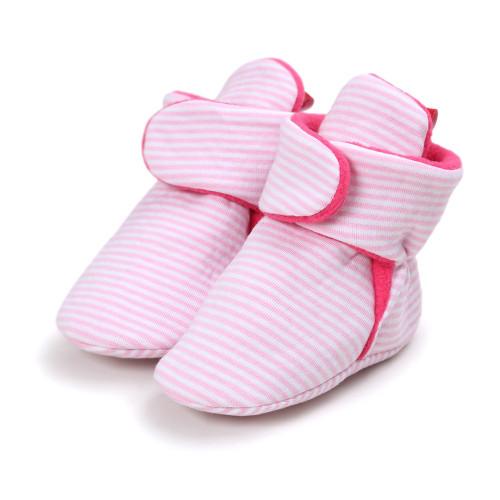 ROMIRUS New baby shoes Newborn Cozie Faux Fleece Bootie Warm Infant Toddler Crib Shoes Classic Floor Boys Girls indoor shoes