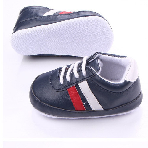 New Classic Sports Sneakers Newborn Baby Boys Girls First Walkers Shoes Infant Toddler Soft Bottom Anti-slip Prewalker Shoes