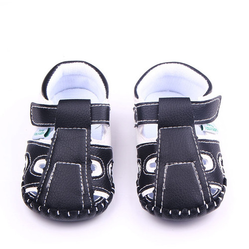 2017 Summer New Fashion PU Leather Infant Toddler Newborn Baby Boy Kid Soft Rubber Soled First Walkers Shoes Crib Babe Footwear