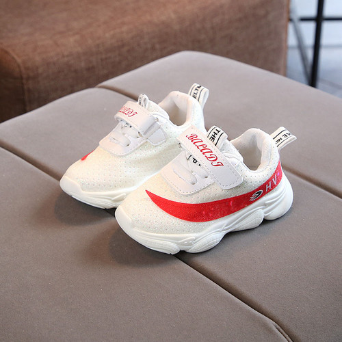 New European Lovely baby sneakers fashion solid LED baby shoes glowing infant tennis fashion glitter girls boys shoes footwear