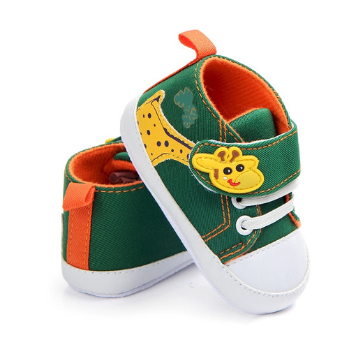 0-12M canvas baby shoes boys soft sole toddler infant shoes newborn boys sneakers baby moccasins first walker F22