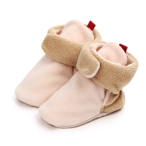 Autumn New High Boots First Walkers 8 Color Baby Shoes Girl Boy 0-1 Years Anti-slip Soft SoleToddler Infant Footwear For Newborn