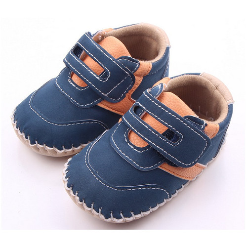Leather Baby First Walkers Antislip First Walkers For Baby Boy Girl Genius Nubuck Leather Baby Infant Toddler Shoes 0-1 years