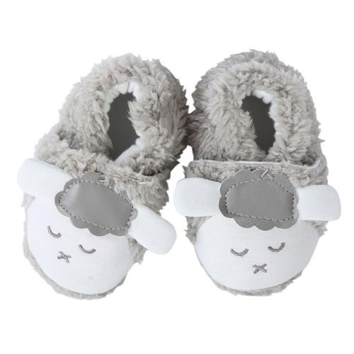 Cute First Walkers Newborn Kids Boys Girls Winter Warm Booties Soft Plush Prewalker Crib Shoes