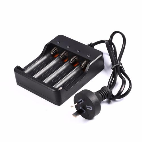 4.2V 1200MA 18650 Battery Charger 18650 Charger Battery Chargers EU US UK AU Plug for 18650 Rechargeable Batteries