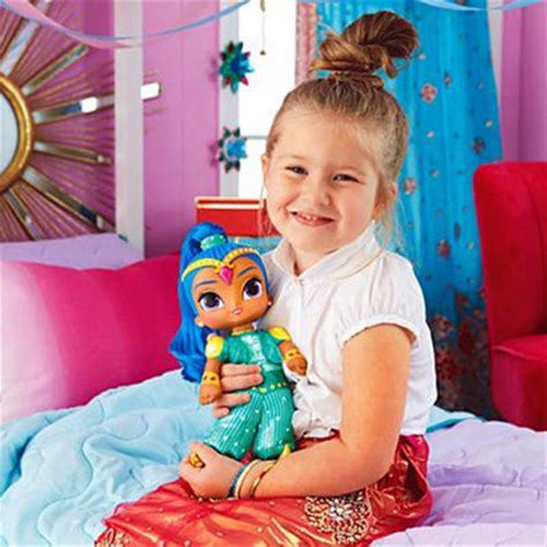 New princess Shimmer stuffed dolls Fashion doll Shine sister dolls for girls party gifts