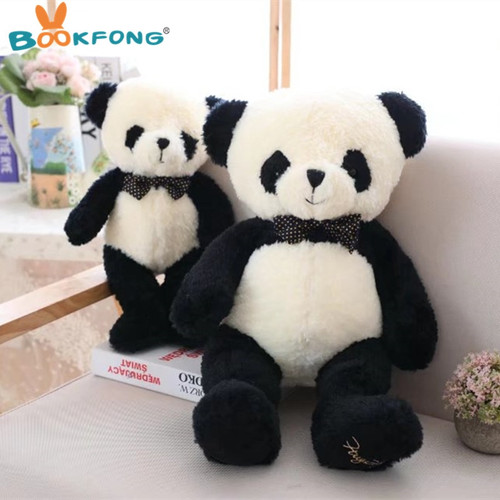40cm Kawaii Panda Plush Toy Stuffed Plush Animal Cartoon Gift Kids Birthday Gift Home Decoration