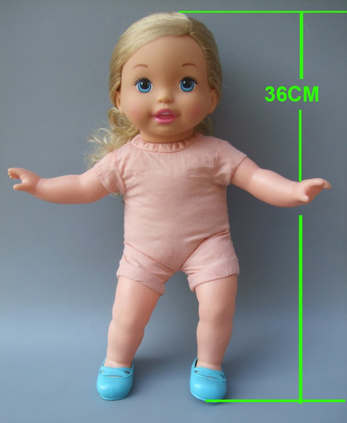 14inch 35 cm Reborn Baby Doll Clothes dress set for baby doll suit outfit