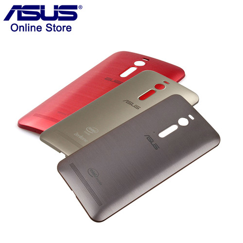 Original ASUS Phone Case Zenfone 2 ZE551ML ZE550ML Back Cover Case Rear Battery Cover Replacement with Power Button Z00AD NFC