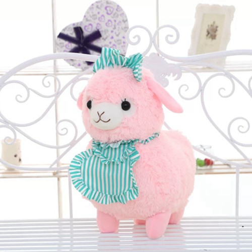 45cm Alpacasso Mud Horse Maid Alpaca Plush Toy Lovely Stuffed Animal Sheep Kids Doll Birthday Gift