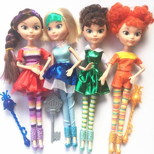 4pcs/Set 25cm Russian Anime Fairy Fantasy Patrol Doll MAWA AEHKA BAPR Action Figures Doll Toys Christmas Birthday Gift For Girls
