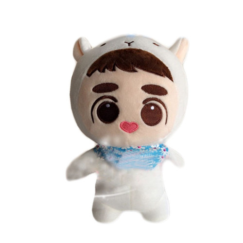 2019 New KPOP EXO Plush Doll Kyungsoo D.O. XIUMIN Baby Doll Stuffed Handmade Fans Toy Collection Soft Kpop Plush Dolls 24cm/9""