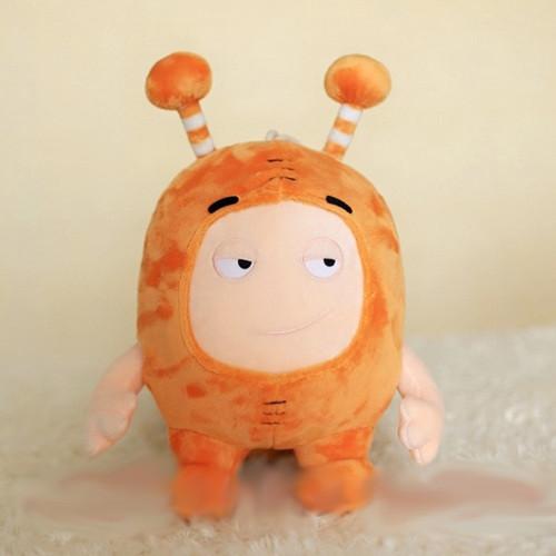 35CM Oddbods Newt Buuble Pogo Zee Jeff Fuse Slick Plush Dolls Stuffed Toys For Kids Christmas Gift