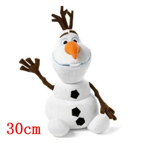 30cm/50cm  Snowman Olaf Plush Toys Stuffed Plush Dolls Accessories Kawaii Snow man Olaf For Kids Christmas Gifts