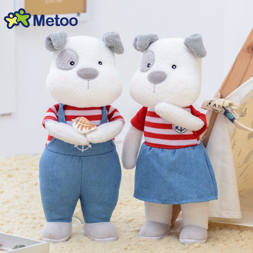 31cm Kawaii Stuffed Plush Animals Cartoon Kids Toys for Girls Children Baby Birthday Christmas Gift Couple Dog Metoo Doll