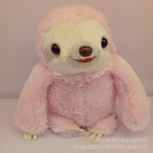 25cm Simulation Sloth Baby Doll Kawaii Sloth Plush Toys Stuffed Dolls Kids Toys Lovely Doll Children Kids Gifts Brinquedos