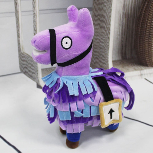 Fornight Troll Stash Llama Plush Toy Game Alpaca Rainbow Horse Toys Cute Stuffed Fortress Night Dolls Kids Gift Christmas Gifts