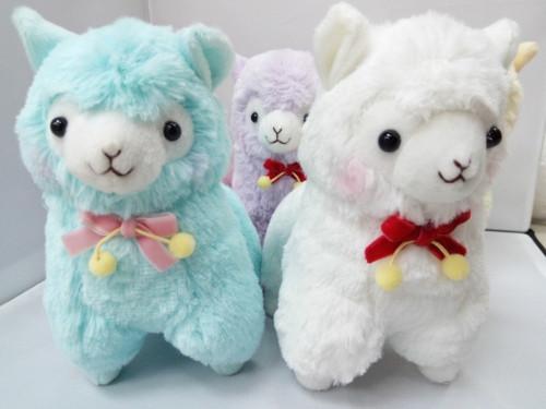 Kawaii Mini Alpaca Vicugna Pacos Plush Toy Japanese Soft Plush Alpacasso llama Baby Kids Plush Stuffed Animals Alpaca Gifts