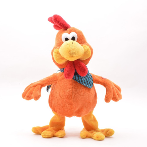 Funny Crazy Dancing Singing Doll Cock Duck Frog Electric Chicken Musical Plush Toy Lovely Rooster Noisy Toys for Children