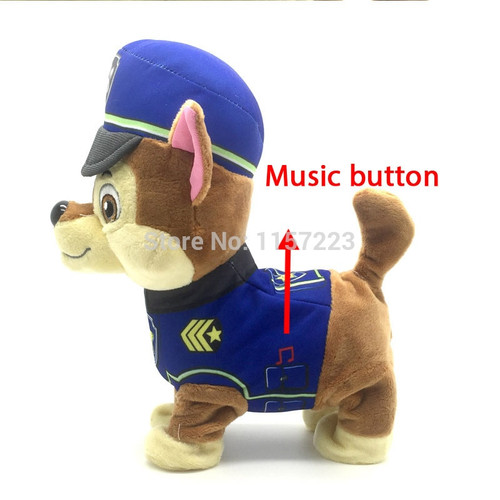 New year gift Singing Walking Electronic Pet Robot Dog Action Figure Interactive ElectricToy Musical Dog Gift for Kids Baby