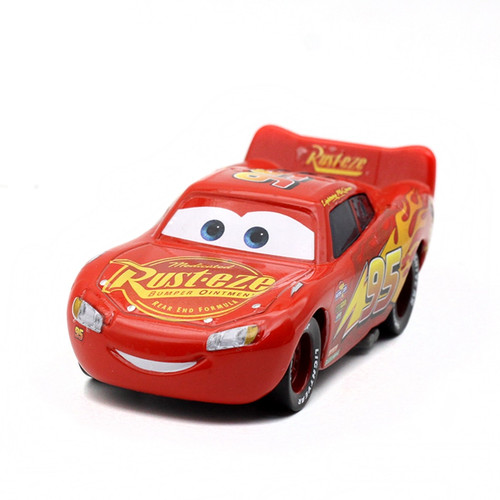 1:55 Disney Pixar Cars 3 2 New Roles Storm Jackson Lighting McQueen Miss Fritter Cruz Ramirez Metal Car Toys Boy Birthdays Gift