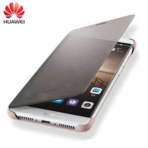 """100% Original Case for HUAWEI Mate 9 Case Luxury Smart View Flip Cover Leather Protective shell For Huawei Mate 9 (5.9""""inch)"""