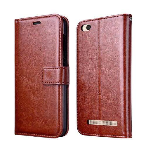 Thouport For Xiaomi Redmi 4A Case Cover Retro Flip Wallet Artificial Leather Case For Xiaomi Redmi 4A Global Version Silicone