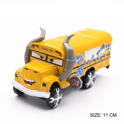Disney Pixar Cars 3 Lightning McQueen Mater Huston Jackson Storm Ramirez 1:55 Diecast Metal Boys Kids Toys Model Car Figures